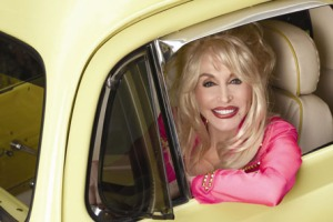 The forever country-glamourous Dolly Parton.